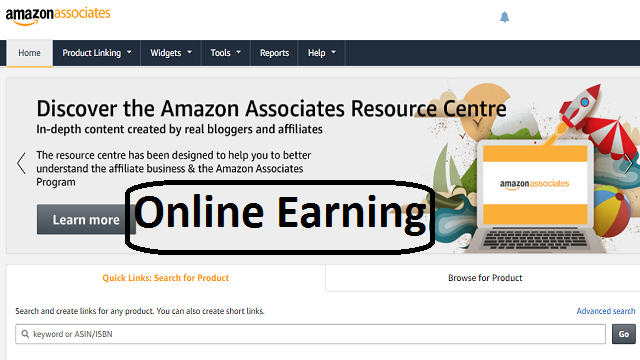 online earning with amazon for free without investment